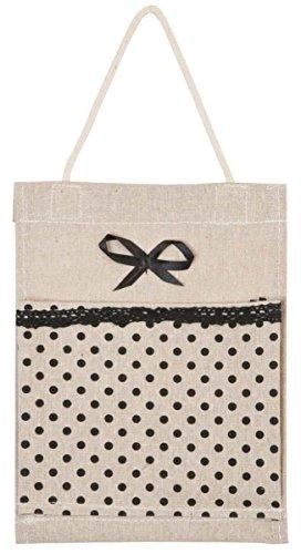 Clayre & Eef 62492tasche borsa del tessuto del sacchetto del sacchetto di stoffa punti ca. 18x 24cm