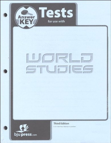 World Studies Test Answer Key 3rd Edition