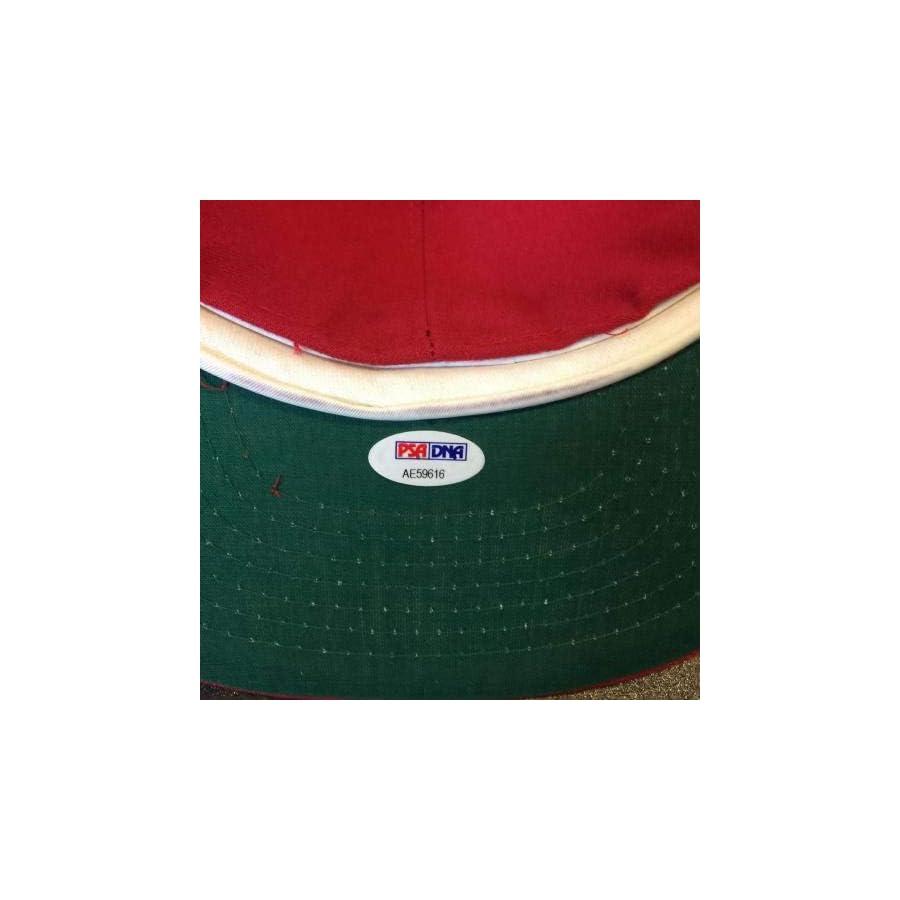 "Robin Roberts""HOF 1976"" Signed Game Model Philadelphia Phillies Hat COA PSA/DNA Certified Autographed Hats"