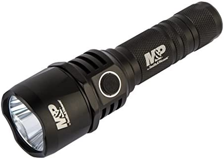 SMITH WESSON M P Duty Series RXP Rechargeable Flashlights with 5 Modes, Waterproof Construction and Memory Retention