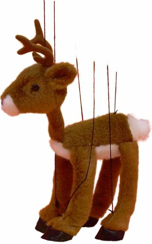 reindeer and dinosaur puppets - photo #9