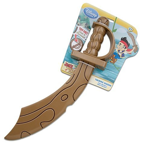 Disney Jake and the Neverland Pirates Talking Toy Sword (Voices Of Jake And The Neverland Pirates)