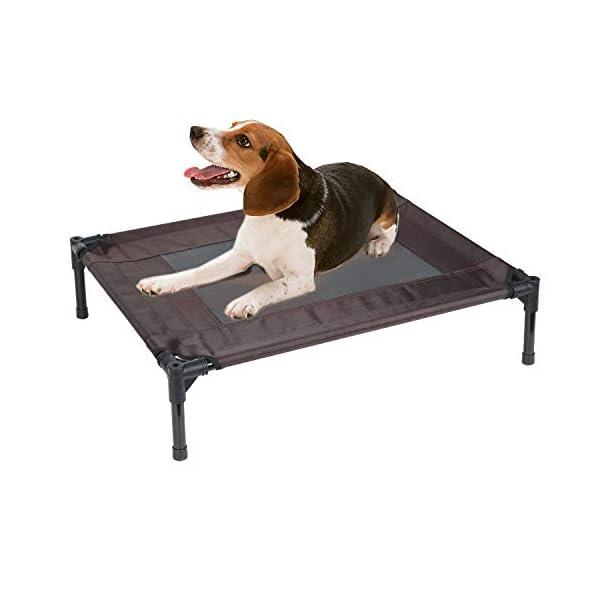 41D27EcjmmL Jolitac Hundeliege mit Dach Hundebett Baldachin Schlafplatz Hundesofa Hunde Liege Haustierbett Katzenbett 3 Maße 2…