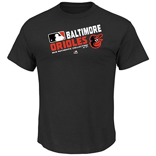 Baltimore Orioles Majestic Youth Authentic Collection Team Choice T-Shirt (YOUTH MEDIUM - Player Baltimore Orioles Series