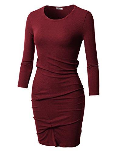 Net Long Sleeve Dress - 4