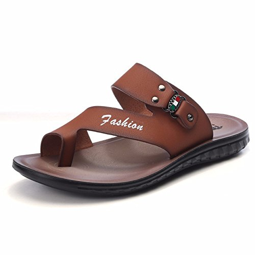 Sommer Das neue Strandschuhe Männer Jugend Persönlichkeit Männer Freizeit Männer Sandalen Flip Flops Trend ,braun111,US=7.5?UK=7,EU=40 2/3?CN=41
