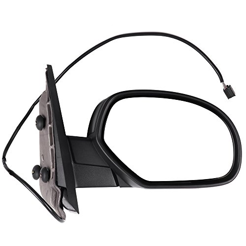 SCITOO Tow Mirrors fit Chevrolet GMC Mirrors fit 2007-2013 Chevrolet Silverado GMC Sierra (07 fit New Body) with Power Controlling and Heated Features (Passenger Side)