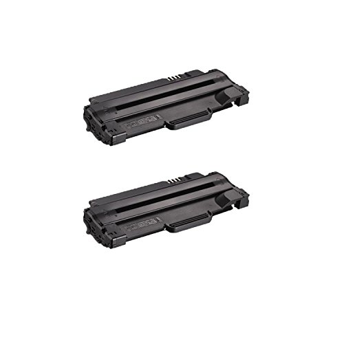 Compatible Toner to replace Dell 330-9523 (7H53W) High Yield Black Toner Cartridge for your Dell 1130,1135 Printer-2 Pack