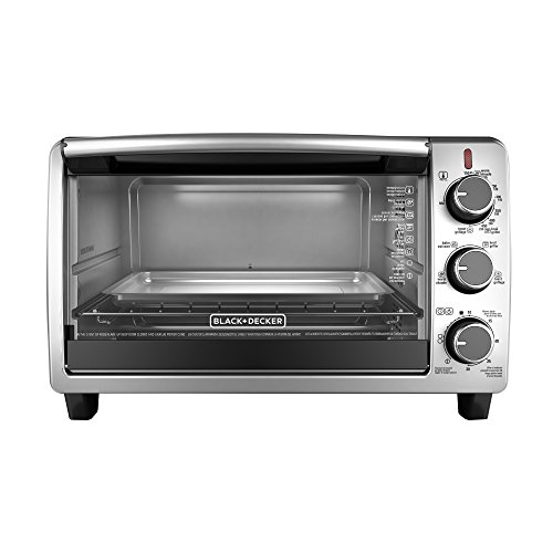 BLACK+DECKER TO1950SBD 6-Slice Convection Countertop Toaster Oven, Includes Bake Pan, Broil Rack & Toasting Rack, Stainless Steel/Black Convection Toaster Oven (Oven Toaster Broiler Commercial compare prices)