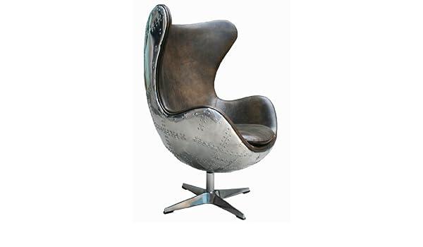 Cuencos con forma de sillón agent Light Java de piel, de ...