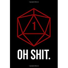 RPG Journal: Notebook for Role Playing Gamers: Oh shit
