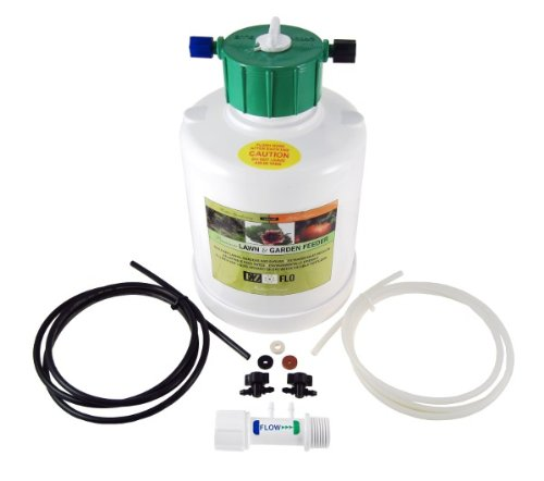 EZ-FLO 1010-HB 1 Gallon Constant Pressure Garden Hose Bib and Drip Connection Fertilizer Injector System