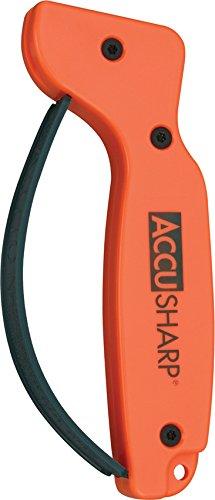 Accusharp Knife Sharpener - Accusharp 014C Knife Sharpener, Blaze Orange
