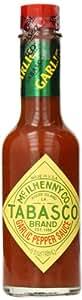 Tabasco Pepper Sauce, Garlic, 5 Ounce