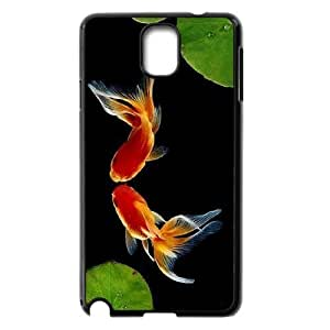 DIY kiss fish Phone Case, DIY Case Cover for samsung galaxy note 3 n9000 with kiss fish (Pattern-4)