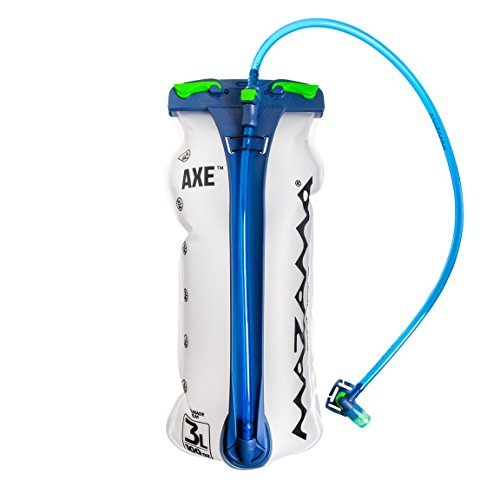 Mazama - Axe Topfill - 3 Liter - Universal Hydration Pack Bladder Replacement for Backpacks - Tasteless & BPA-Free - USA Made Film
