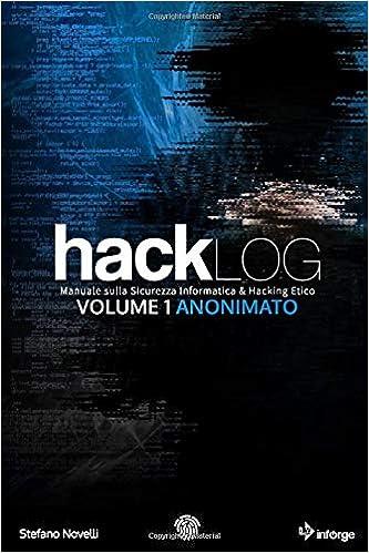 Hacklog Volume 1 Anonimato