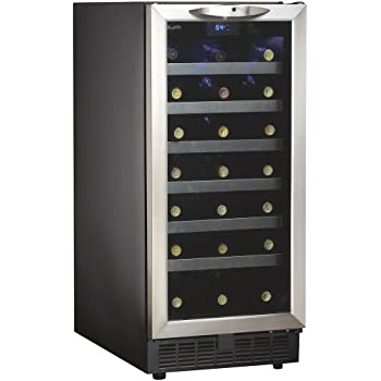 Amazon Com Danby Dwc1534bls 3 7 Cu Ft 34 Bottle