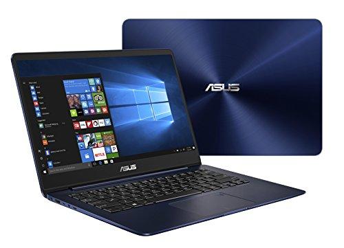 Asus Zenbook UX3430UQ-GV012T 35,5 cm (14 Zoll mattes FHD) Notebook (Intel Core i7-7500U, 16GB RAM, 512GB SSD, Nvidia GeForce 940MX, Win 10) blau