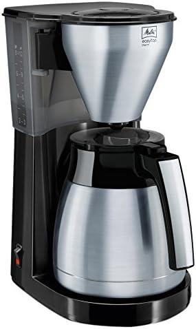 Melitta Easy Top Therm 1010-08 Kaffeemaschine Schwarz  Fassungsvermögen Tassen=8