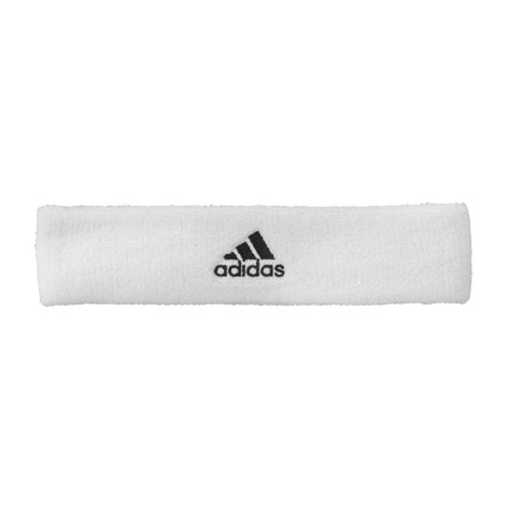 adidas Headband Tennis - Cinta de pelo de tenis, color blanco, talla OSFM Z43420