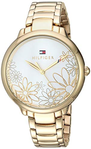 's Leila Quartz Watch with Gold-Tone-Stainless-Steel Strap, 14.2 (Model: 1781781 ()