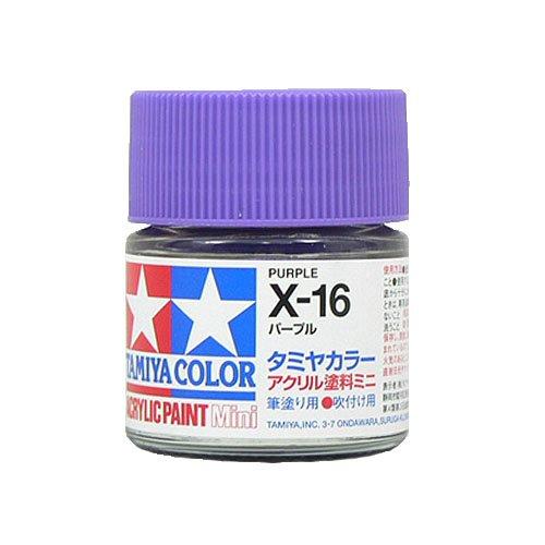 アクリルミニ X-16 パープル