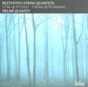 Beethoven: String Quartet in E Flat Major, Op. 74 / String Quartet in F Minor, Op. 95