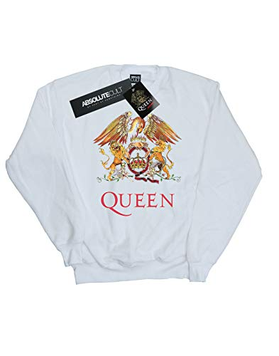 shirt Logo Cult Absolute Homme Blanc Queen Sweat Crest PFaCF