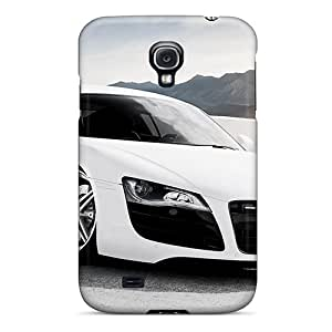 Ultra Slim Fit Hard ArtCart Case Cover Specially Made For Galaxy S4- Audi R8 Adv1 Wheels
