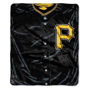 (MLB Pittsburgh Pirates Jersey Plush Raschel Throw, 50