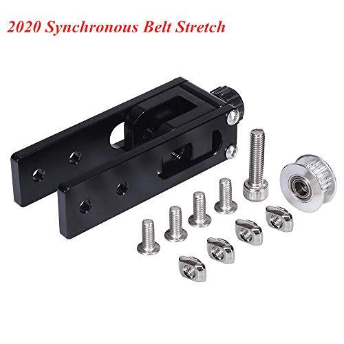 BZ 3D 2020 Profilo in alluminio Asse X Slot a cinghia sincrona Allungamento tenditore Tenditore Parti della stampante 3D per CR-10 CR10S Tronxy X3 asse X 2020