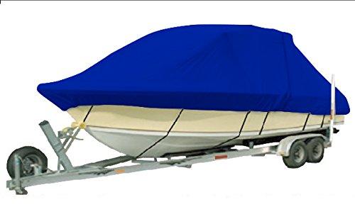 Hardtop Boat Cover (Vehicore Heavy Duty T-top Hard Top Boat Cover for Sea Hunt Ultra 211 Center Console Fishing Blue)