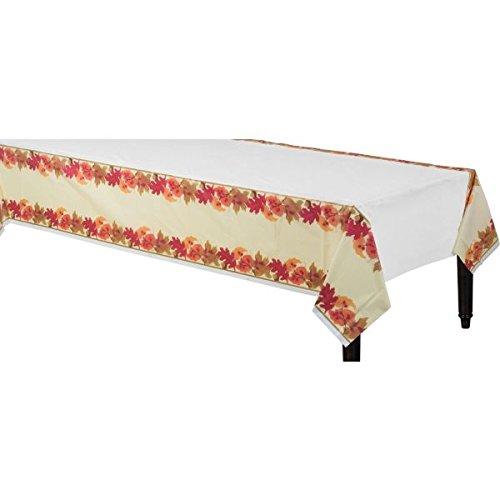 Festive Fall Plastic Table Cover Amscan 571174