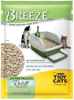 Tidy Cats BREEZE Cat Litter Pellets 3.5 lb, My Pet Supplies