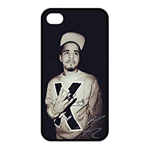J Cole Custom TPU Case Cover Protective Skin For Iphone 4 4s iphone4s-NY985 by ruishername