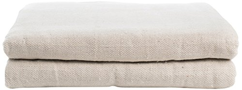 Cleaning Solutions 79094 Cotton Canvas Drop Cloth 6' x 9' All Purpose Use, Floor Protection, Patio Cover, Curtains, Furniture Upholstery (Drop Curtains Cloth Patio)