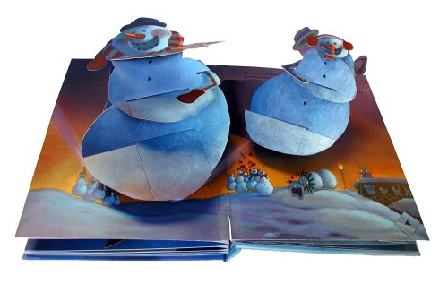 Snowmen Pop-Up Book by Dial (Image #1)