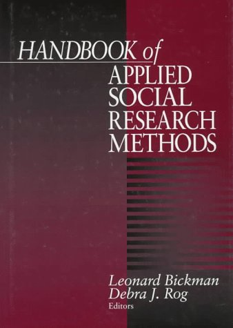 Handbook of Applied Social Research Methods