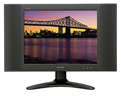 Sharp Aquos LC-15B2UB 15-Inch Flat-Panel LCD TV, Black