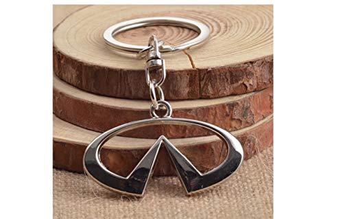 Openwork metal car logo, Infiniti car keychain Stainless Keychain ()