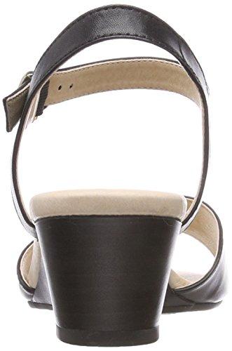 Caprice Damer 28213 Slingback Sandaler Sort (sort Nappa 22) bLMZ6XSK
