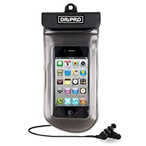 Infosec D01 - Bolsa y auriculares sumergibles para iPhone 3 y 4/iPod Touch/Galaxy S/BlackBerry