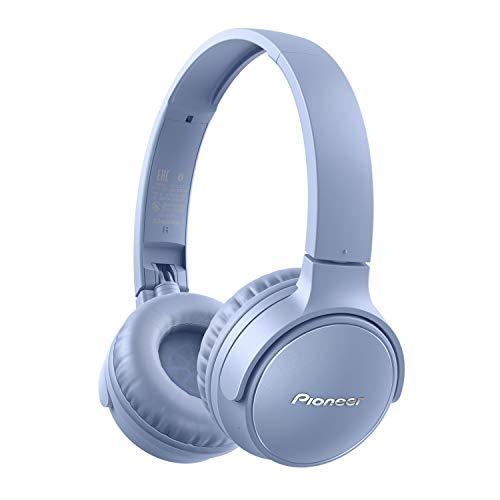 Pioneer S3 Wireless On-Ear Bluetooth 5.0 hoofdtelefoon (opvouwbaar, 25 uur accu, snellaadfunctie, handsfree…