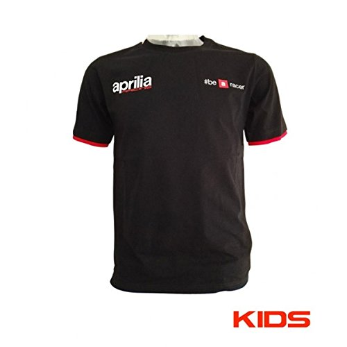 T-SHIRT BAMBINO APRILIA 2018 - TRACK COLLECTION - TAGLIA 12 Y Do design