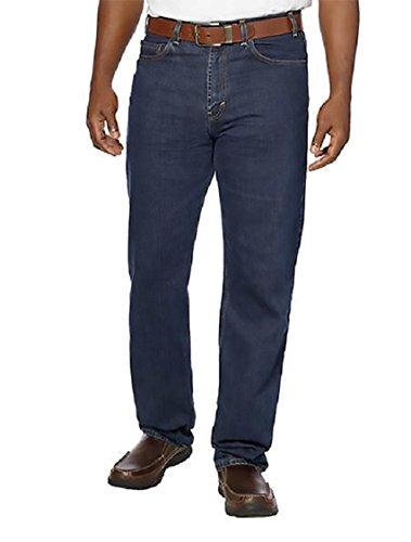 Kirkland-Signature-Mens-Size-32Wx32L-Relaxed-Fit-Denim-Jeans