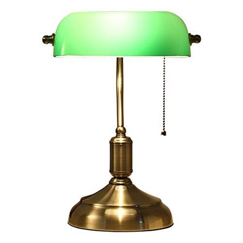 Lámpara de Mesa de Lectura de Escritorio Tradicional de latón ...