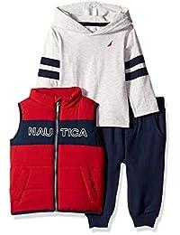 Nautica Sets Kids and Baby 3 Piezas Chaleco Pantalones Set