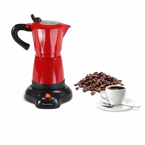 Cafetera italiana eléctrica 480 Watts: Amazon.es: Hogar