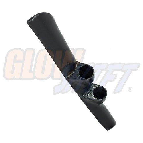 Dual A-pillar Pod - GlowShift Black Full Size Dual Pillar Gauge Pod for 1998-2002 Dodge Ram Cummins 1500 2500 3500 - ABS Plastic - Mounts (2) 2-1/16